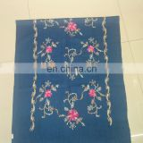 flower embroider scarf 1700*70cm lady's scarf woman shawl