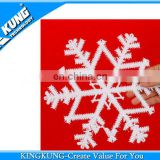 Hot sale christmas snow hangings/Christmas gift/Christmas present