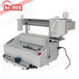 No MOQ Automatic desktop hot melt glue book binding machine with creasing function manufacturer price