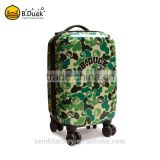 High end cute hot sale trolley travel luggage bags