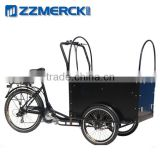 Front cabin cargo tricycle