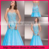 Mermaid Sweetheart and Strapless Neckline with Eye-Catching Beaded Bodic and Sequences on the Skirt Emerald Green Evening Dress