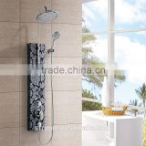 Fashion Design Bathroom Shower Faucets System Stainless Steel Shower Panel K-1514