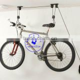 20KG BICYCLE PULLEY HOIST BIKE LIFT CYCLE STORAGE RACK BASEMENT GARAGE