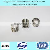 Custom CNC Parts Stainless Steel Fitting, Threaded Flange Bushing