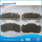 high quality heavy trucks disc brake pad Back Plate                                                                         Quality Choice