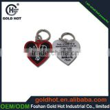 Metal custom logo anodized id tag in stock