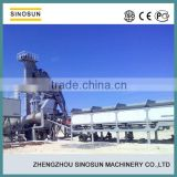China new condition hot mix 60tph mobile asphalt plant for sale