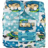 AnAnBaby Rise Snaps Nappy Promotion diapers In bulk Cloth nappy