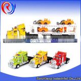 Wholesale diecast trailer truck model toy for sale