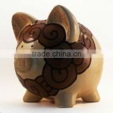 coin bank with lock ,tin coin bank,piggy bank with coin counter