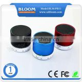 Hot sale led bluetooth speaker ,mini portable led bluetooth speaker ,led bluetooth speaker small size