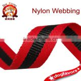 1.5cm red and black stitching,badge medal polyester webbing