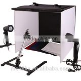 Portable 50 x 50 x 50 cm Camera Photo Studio Box Light Lighting Cube Tent Kit with Tripod Four Backdrop