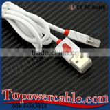Top Selling Double Colors Usb 3.0 Micro Connector Data Charging Cable With Protector For Samsung Galaxy