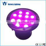 IP68 led solar powered underwater led rgb lights marine