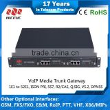 8 ports Media Converter NC-MG900 with SIP Protocl