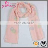 jersey scarf , hijab scarf guangzhou, custom 100% polyester short neck scarves for women