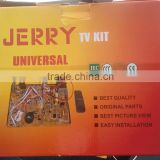 JERRY POWER High quality cheap pirce color tv kit/ china tv kit/tv lift kit/14-21inch inch led crt tv kit