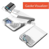 high resolution portable document camera/digital visualizer scanner mini document scanner auto scanner mic usb HDMI ports