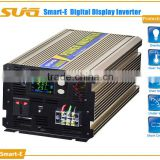 pure sine wave 2000w inverter converts 12V DC from battery to 230/120 Volt AC for solar system/household