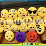 Hot Selling High Quality Novelty Design Emoji Yellow Cute Emoticon Emoji Pillow with Facial Expression