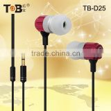 Stylish Earphone for Girls HiFi Top Quality Sound Headphone Retractable Cable Roller Earpiece