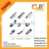 Isuzu engine hydraulic oil cooler cover for engineering machinery
