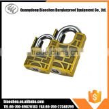 new zinc alloy/steel padlock with key alike system interior door locks , hardened combination lock , padlock