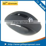 Ergonomic 2.4G Wireless Mouse with 3 Adjustable DPI Levels (800 / 1200 / 1600) and Side Controls for Gaming and More