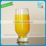 highball juice glass tall drinking glass cup hot sale promotional thick bottom machine blown drinking glasses