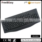 Best price cool shape waterproof wired gaming keyboard                                                                                                         Supplier's Choice