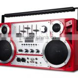 dj powered music speaker box with Battery Level Indicator Master Volume music portable speaker