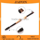 Wood handle double heads brow brush angle spoolie cosmetic                                                                         Quality Choice