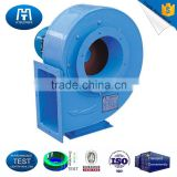 Coupling drivetrain high volume thermal power plant centrifugal fan