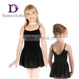 C2128 NEW child camisole ballet chiffon skirt/girls ballet dress/chiffon ballet skirt/girls leotard/girls chiffon tutu dress
