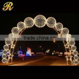 Wedding centerpieces decorated led flower arch for wedding favor