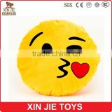 chinese plush emoji pillow factory high quality plush emoji cushion funny plush emoji pillow