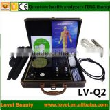 New products 2014 100% High Quality Latest Software TENS Therapy Quantum Magnetic Resonance Body Analyzer Price