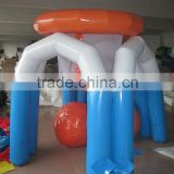 inflatable basketball hoop shooting game