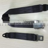 aircraft seat belt for airplane or roller coaster