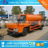 5 CBM 4*2 Fecal suction tanker truck for sale