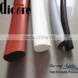 colored soft silicone rubber hose/ shrinkable silicone rubber tubing/ silicone rubber tube