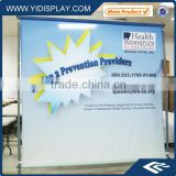 Pop up wall banner display