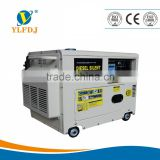 Good quality 6.5KVA diesel aircooled silent generator with ATS,copper alternator.                                                                         Quality Choice