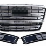 Grille/fog lamp cover for Audi A8' 15 W12