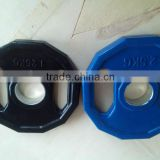 colored color cast iron Dodecagon rubber olympic alex weight plate