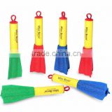 LED Light EVA Foam Toy Finger Rocket Kids Super Launcher Toy Set