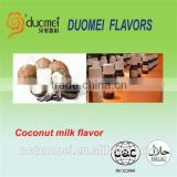 Coconut milk flavor PG based food grade flavor artificial liquid fragrance for milk drinks
