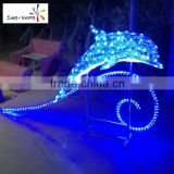 Cutely dolphin solar light dolphin lamp holiday time outdoor led holiday time christmas lights                                                                                                         Supplier's Choice